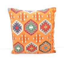 kilim pillow 16x16inc kilim Cushion Cover,Ethnic Anatolian Kilim  Pillow... - $18.50