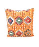 kilim pillow 16x16inc kilim Cushion Cover,Ethnic Anatolian Kilim  Pillow... - $55.00