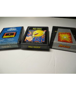 Atari 2600 Games - Oink!, Pac Man, Reactor - $21.77