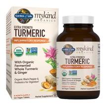 mykind Organics Extra Strength Turmeric Inflammatory Response 120 Tabs - $84.43