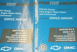 1997 GM Chevy GMC P32/42 Chassis Service Repair Shop Workshop Manual Set... - $11.83