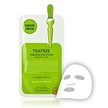 K-Beauty LN Cosmetics Mediheal Teatree Essential Mask Set of 10