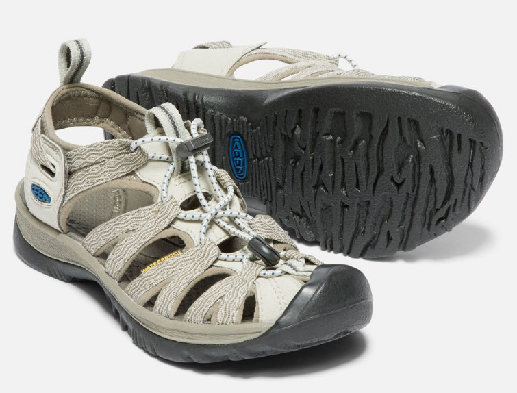 Primary image for Keen Whisper Taille 7 M (B) Eu 37.5 Femmes Sport Sandales Agate Gris/Bleu
