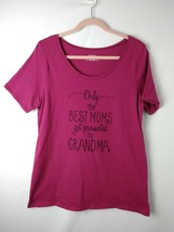 Motherhood Maternity Pregnancy Announcement Tee, Mother's Day Grandma, L... - $9.78