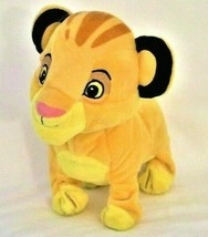 Lion King Disney BABY Simba Roaring Walking Plush Electronic battery pow... - $18.04