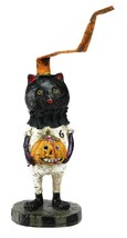 "Gallerie II 5.5"" Trick or Treat Pal Cat with Pumpkin Decorative Hallowee... - $195,42 MXN"