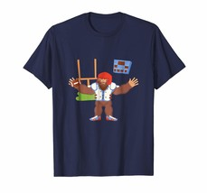 New Shirts - Bigfoot Playing Rugby Accessories News Funny Gift T-Shirt Men - $19.95+