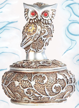 Haunted Free W $49!! 300X Magnify Protect Magick Owl Chest Witch Cassia4 - $0.00