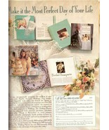 1990 Martha Stewart Weddings Print Advertisement Ad Vintage VTG 1990s - $7.92