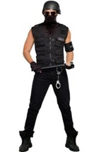 Mens Special Ops Costume 9444 by Dreamgirl Black  - $46.64+