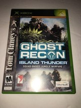 Tom Clancy's Ghost Recon Island Thunder - Xbox-TESTED COLLECTIBLE VINTAGE - $8.71