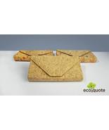 EcoQuote Eco-Friendly Envelope Design 3 Way Bag Handmade Cork Material f... - $39.50