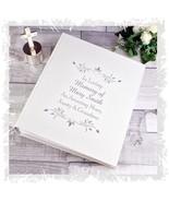 Memorial loving memory Photo Album personalised Keepsake funeral item - $36.89