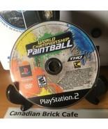 World Championship Paintball (Sony PlayStation 2, 2008) - $3.78