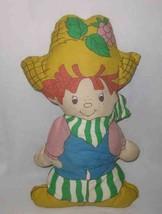 "19"" Cloth HUCKLEBERRY PIE Strawberry Shortcake DOLL - $36.59"