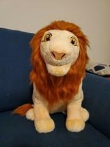 Disney Store The Lion King Adult Simba and Nala Stuffed Plush Set 18 inc... - $200.00
