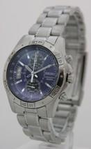 Seiko mens watches tachymeter chrono stainless steel SNN095 - $133.18