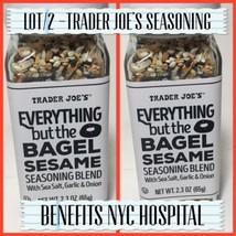 Trader Joe's Everything but The Bagel Sesame Seasoning Blend Pack of 2 - $15.84