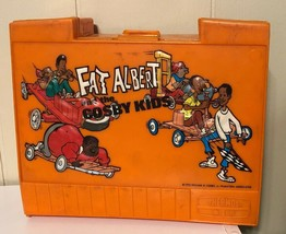 1973 VINTAGE Thermos Fat Albert lunchbox And Thermos RARE. USED - $34.64