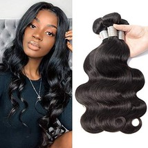 Prom Rosa Brazilian Virgin Hair Body Wave Hair Weave 3 Bundles Full Head Set Unp