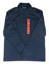 Calvin Klein 1/4 Zipper Pullover Heather Blue NEW with TAGS Mens  Medium - $19.79