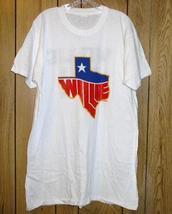 Willie Nelson Concert Tour T Shirt Vintage 1984 - $249.99