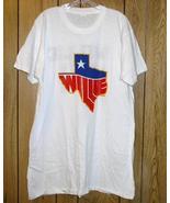 Willie Nelson Concert Tour T Shirt Vintage 1984 - $264.99