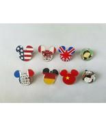 Disney Trading Ufficiale Internazionale Bandiere Viaggio Epcot Mickey Lo... - $36.06
