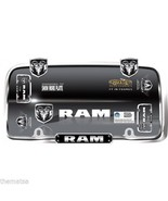 DODGE RAM CHROME METAL MADE IN USA LICENSE PLATE FRAME - $27.07