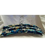 Vera Bradley lot of 3 Blue Mod Floral padded clothes hanger - $21.00