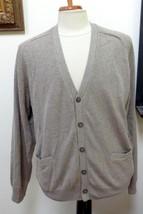 NWT - $45.00 - CROFT & BARROW MAN'S Light Heather Taupe Cardigan/Sweater... - $29.70