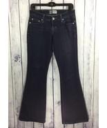 Signature Levi Strauss Womens Juniors Denim Jeans 5 J287 Low Slim Flare ... - $16.19