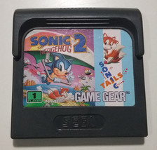Sonic The Hedgehog 2 Sega Game Gear Handheld Console Game Cartridge Vint... - $7.42