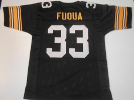 UNSIGNED CUSTOM Sewn Stitched John Frenchy Fuqua Black Jersey - M, L, XL... - $33.99