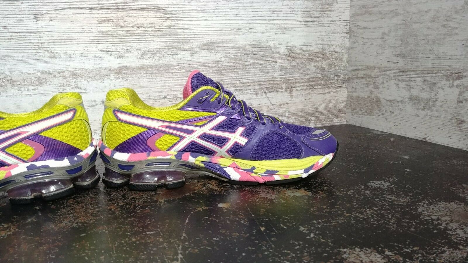 Womens Asics Gel Sendai Running Shoes SZ 6.5 37.5 Used T36DQ Sneakers Trainers image 6
