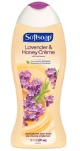 Softsoap Moisturizing Body Wash, Lavender and Honey Crème, 20 Ounce  - $7.95