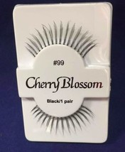 CHERRY BLOSSOM FALSE EYELASHES CHOOSE 1 TO 10 PAIRS OF QTY of  #99 LASHES - $1.57+