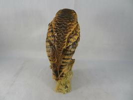 """Vintage BARN OWL Figurine Bird Ceramic Model Hand Painted JAPAN 6""""1/2 Tall image 5"""