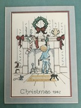Alma Lynne The Stockings Were Hung Leaflet I Boy Counted Cross Stitch Ch... - $4.99