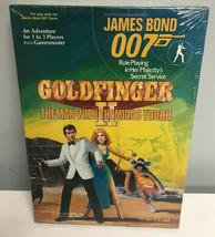 JAMES BOND 007 GOLDFINGER II SEALED Boxed Set Victory Games Secret Servi... - $49.49