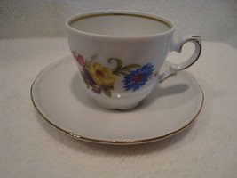 Schumann, germany white porcelain demitasse cups & saucers. 1960-1970 x8 - $45.00