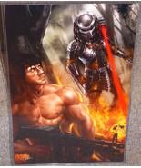 The Predator vs Rambo Glossy Art Print 11 x 17 ... - $24.99