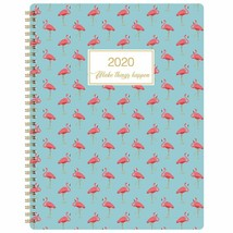2020 Monthly Weekly Planner Flamingo Print - $21.29