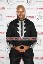 Odeneho Wear Men's  Black Polished Cotton Top Only/Embroidery. African Clothing. - $84.15+