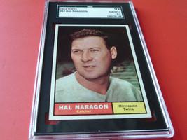 1961   TOPPS  #  92   HAL  NARAGON   SGC  92   !! - $34.99