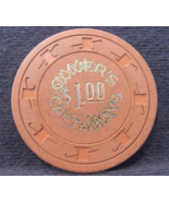 """$1.00 Casino Chip From: """"The Castaways Oliver's""""- (sku#2664) - $10.99"""
