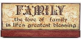 45364F - Faith Wood Sign on Base - $13.95