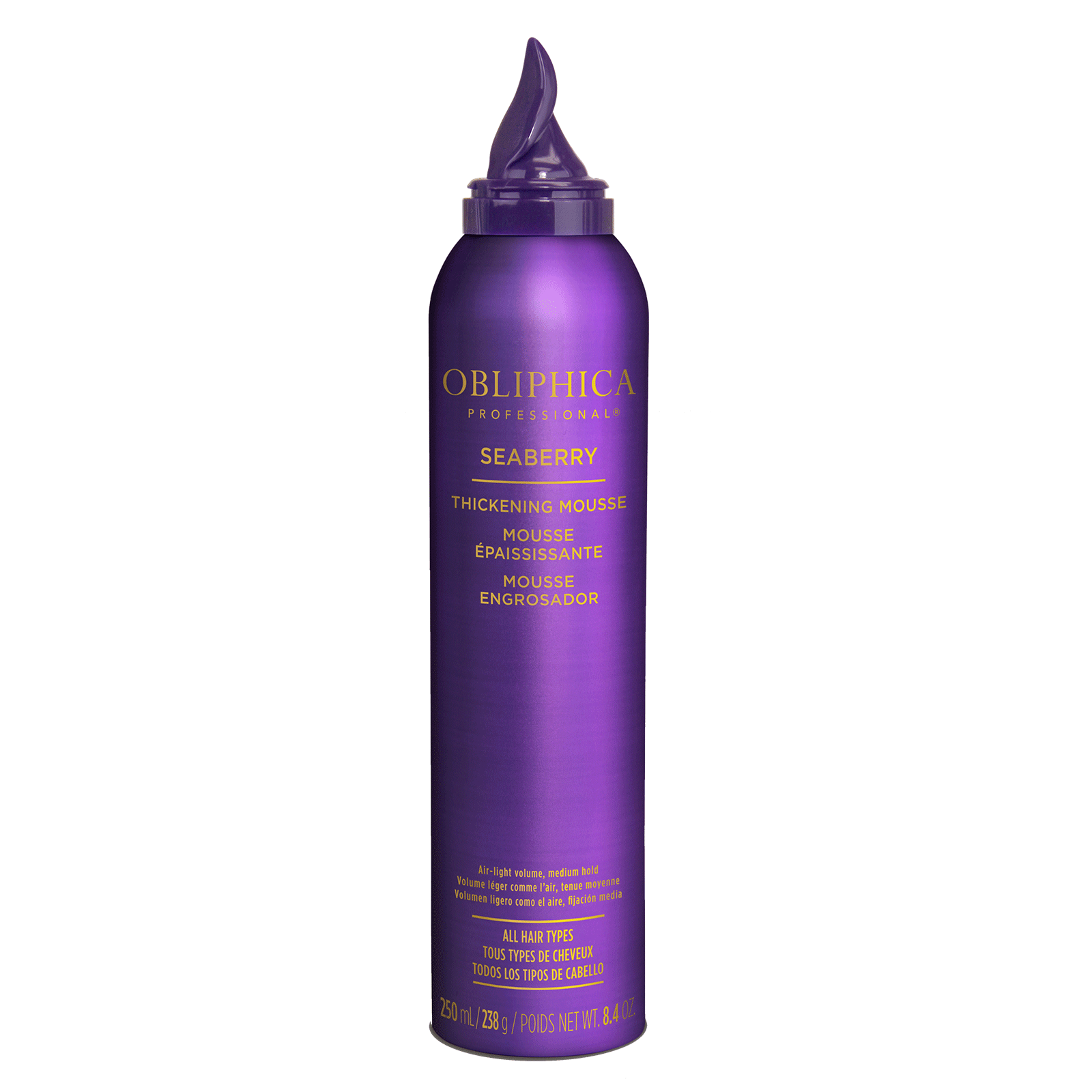 Obliphica Seaberry Thickening Mousse 8.4oz