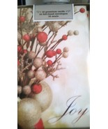 Joy Christmas Premium Boxed Holiday Cards 16 Cards and Envelopes and Seals - $11.88