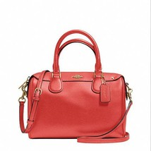 NWT Coach F36624 Mini Bennett Satchel In Crossg... - $112.19